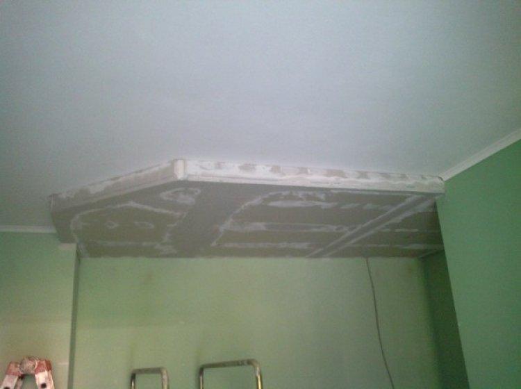 Cartongesso Veletta a soffitto